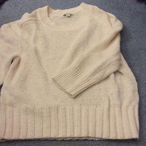GAP Cream Chunky Sweater!